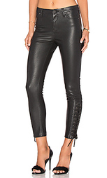 Узкие джинсы на шнуровке - BLANKNYC