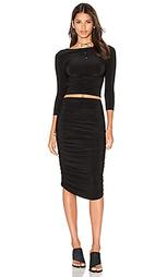 Платье с длинным рукавом teaser - Norma Kamali