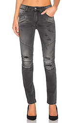 Узкие мото джинсы - Pierre Balmain