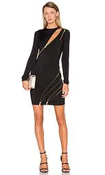Платье с длинными рукавами и молниями - Pierre Balmain