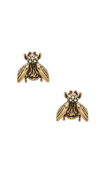 Серьги charms beetle stud - Marc Jacobs