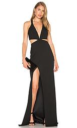 Вечернее платье с глубоким вырезом - Michelle Mason