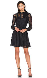 Tie neck lace dress - Red Valentino