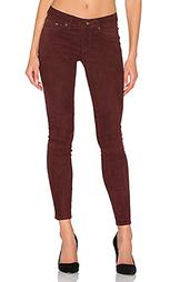Узкие замшевые брюки - rag & bone/JEAN