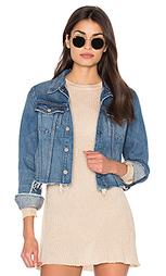 Укороченная джинсовая куртка cara - GRLFRND