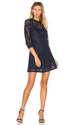 Кружевное платье с юбкой-солнцеклёш - BCBGeneration