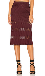 Миди юбка с вышивкой крошё - Band of Gypsies