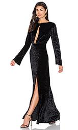 Grace velvet maxi dress - AGAIN