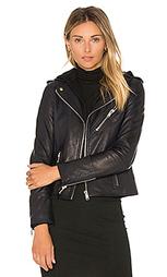 Мото куртка со съёмным капюшоном - DOMA