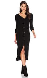Платье с v-образным декольте - Tibi