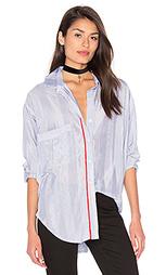 Рубашка в стиле бойфренд twoforone - Smythe