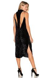 Бархатное платье stanley - AGAIN