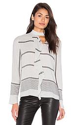 Блуза с рюшами - DEREK LAM 10 CROSBY