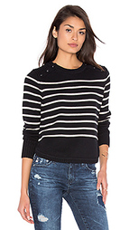 Полосатый свитер с круглым вырезом - 525 america