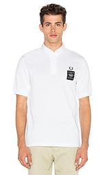 Рубашка со стоящим воротником art comes first - Fred Perry