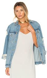 Свободная рабочая джинсовая куртка daria - GRLFRND