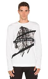 Рубашка с круглым вырезом и длинным рукавом - Helmut Lang