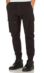 Спортивные брюки карго с дугообразными брючинами - Helmut Lang