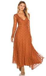Кружевное платье guinevere - Free People