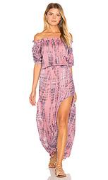 Платье со спущенными плечами sage - Tiare Hawaii