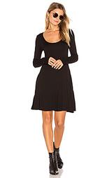 Повседневное облегающее платье с юбкой-солнцеклёш - BCBGeneration