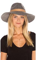 Шляпа с широкими полями midnight ride - Michael Stars