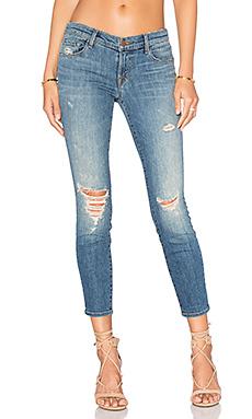 Укороченные узкие джинсы низкой посадки - J Brand