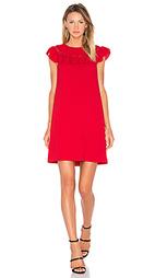 Платье ruffle - Trina Turk