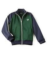 Тренировочная куртка с колорблок laurel wreath - Fred Perry