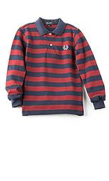 Рубашка в полоску pique - Fred Perry