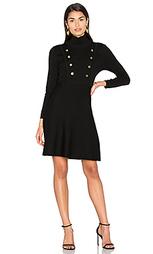 Мини платье с двубортным воротом - 525 america