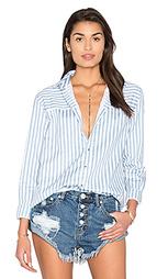 Полосатая рубашка с застёжкой на пуговицы desert - ROLLAS