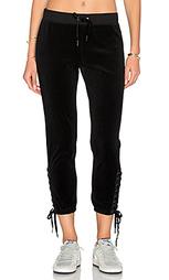 Спортивные брюки на шнуровке - Pam & Gela
