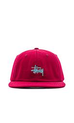 Бейсболка из твила с логотипом - Stussy