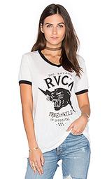 Футболка free & wild - RVCA