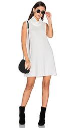 Мини платье с овальным вырезом без рукавов - Michael Stars