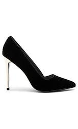 Туфли на каблуке с вельветовым верхом dina - Alice + Olivia