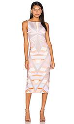 Миди платье с v-образным образом prism - Mara Hoffman