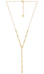 Ожерелье в форме лассо emma - gorjana