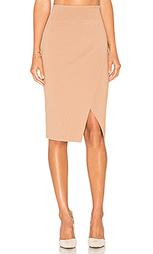 Compact overlap pencil skirt - KENDALL + KYLIE