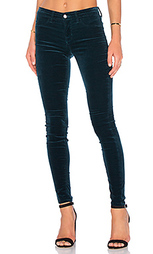 Супер узкие джинсы средняя посадка - J Brand
