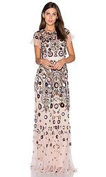 Ажурное макси платье enchanted - Needle & Thread