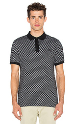 Square jacquard pique shirt - Fred Perry x Raf Simons