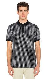 Square jacquard pique shirt - Fred Perry x Raf Simons