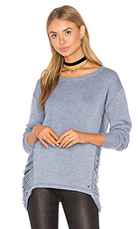 Adele drape side sweater - One Grey Day
