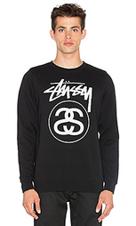 Рубашка с круглым вырезом stock link - Stussy