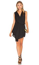 Платье asymmetrical surplice - krisa