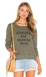 Пуловер jolie gangsta rap made me - TYLER JACOBS