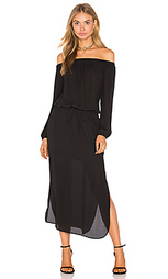 Off shoulder midi dress - krisa