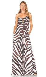 Макси платье zebra - Mara Hoffman